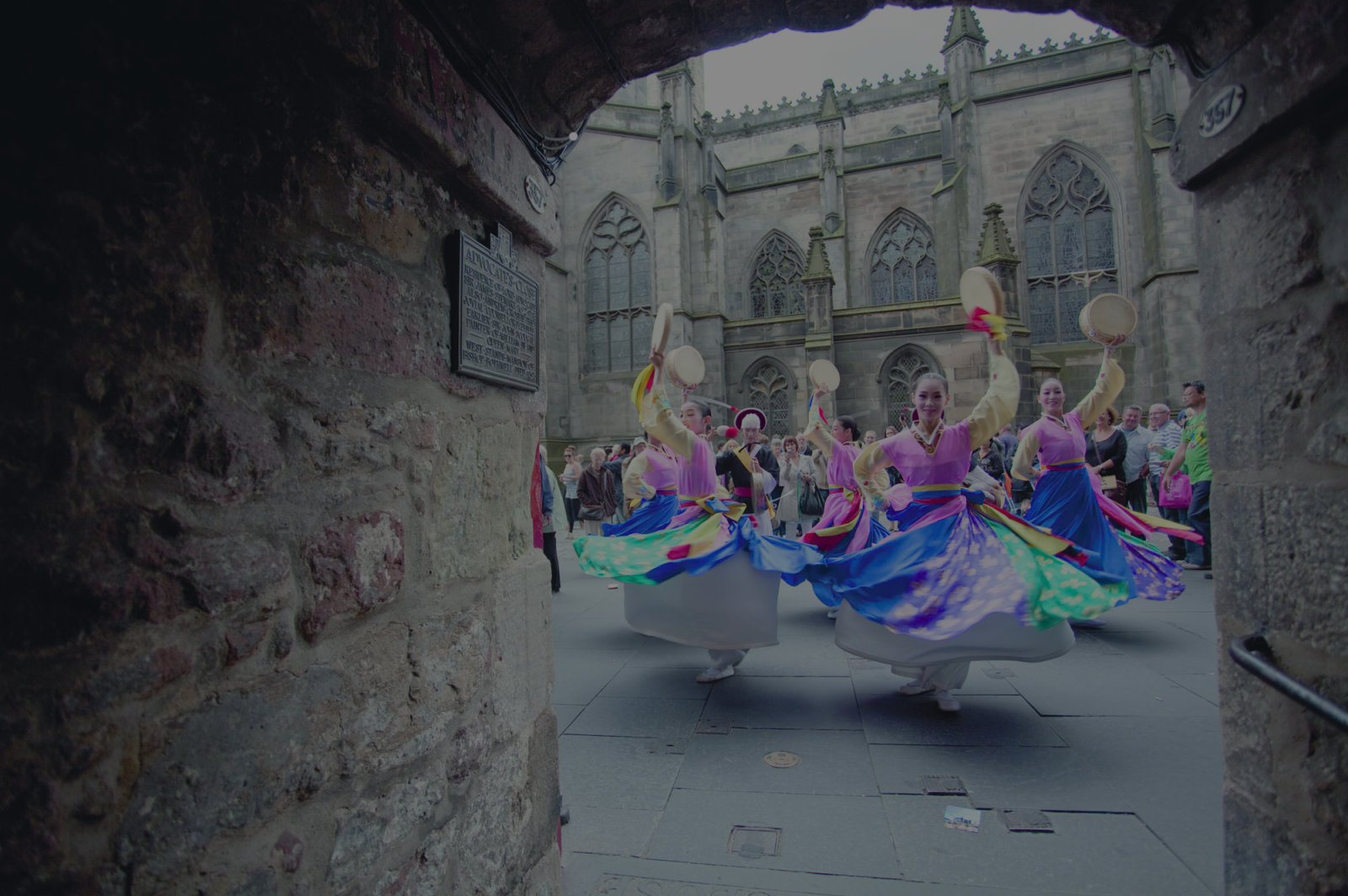 Dancers at the edinburgh festival fringe original 1 full tinted