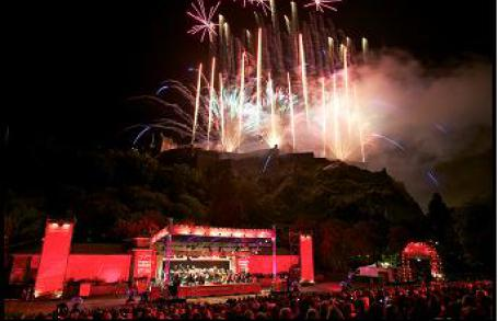 Edinburgh international festival   closing fireworks concert listing