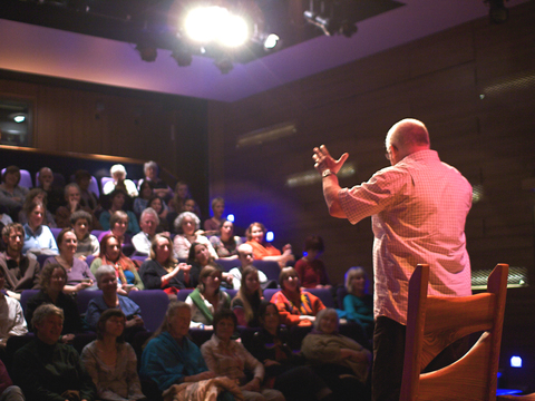 Storyteller lawrence tulloch in the netherbow theatre gallery thumbnail
