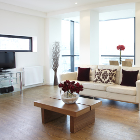 Princes street suites  edinburgh  interior   living room area   credit marketing edinburgh accomodation logo