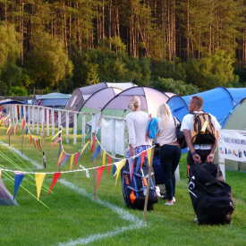 Edinburgh festival camping  7 accomodation logo