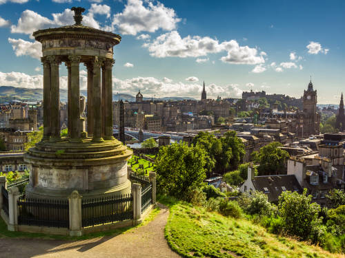 Edinburgh background about listing