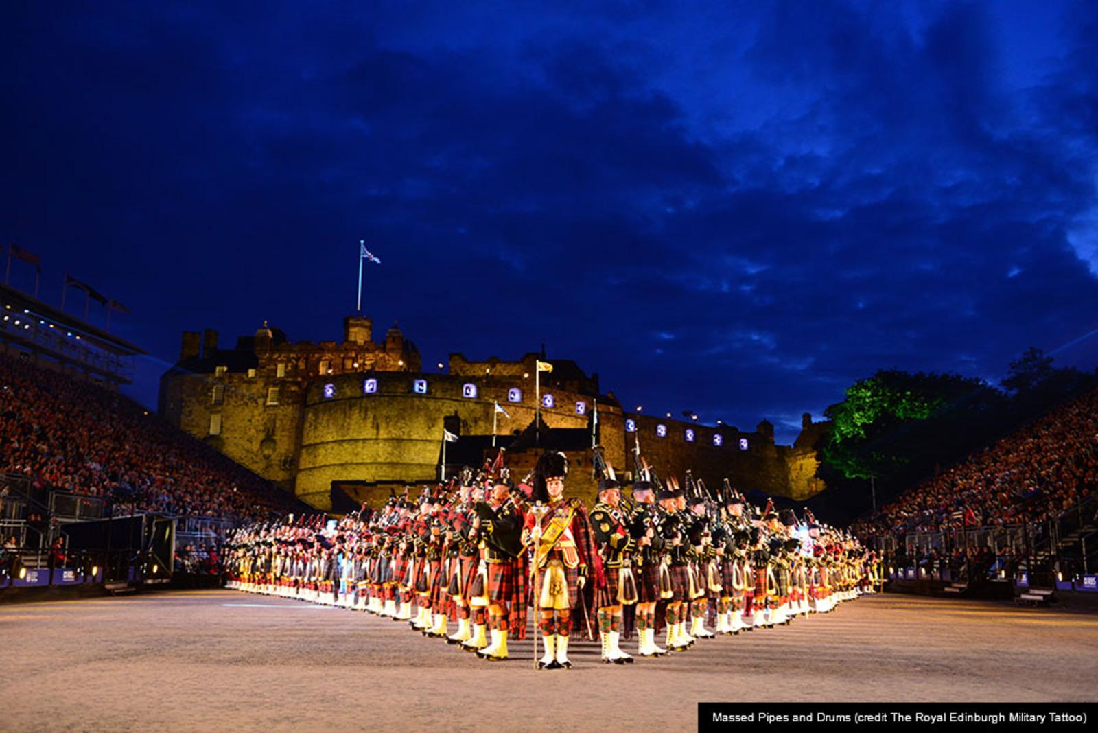 The royal edinburgh military tattoo edinburgh festival city for Scotland military tattoo