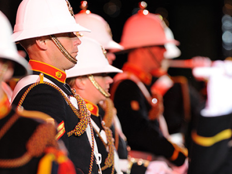 Royal marines band cap gallery thumbnail