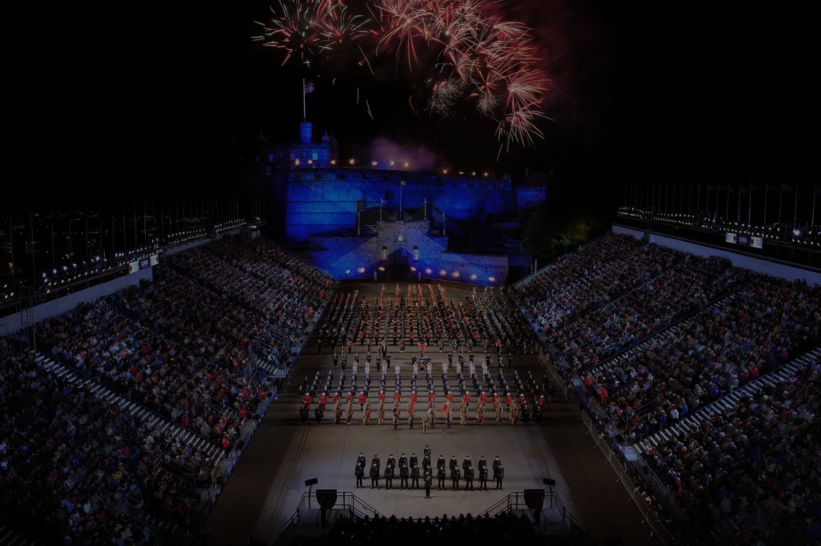 Edinburgh festival city for Royal military tattoo