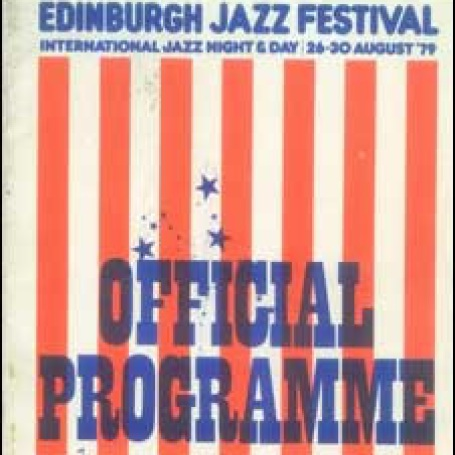 First jazz programme listing