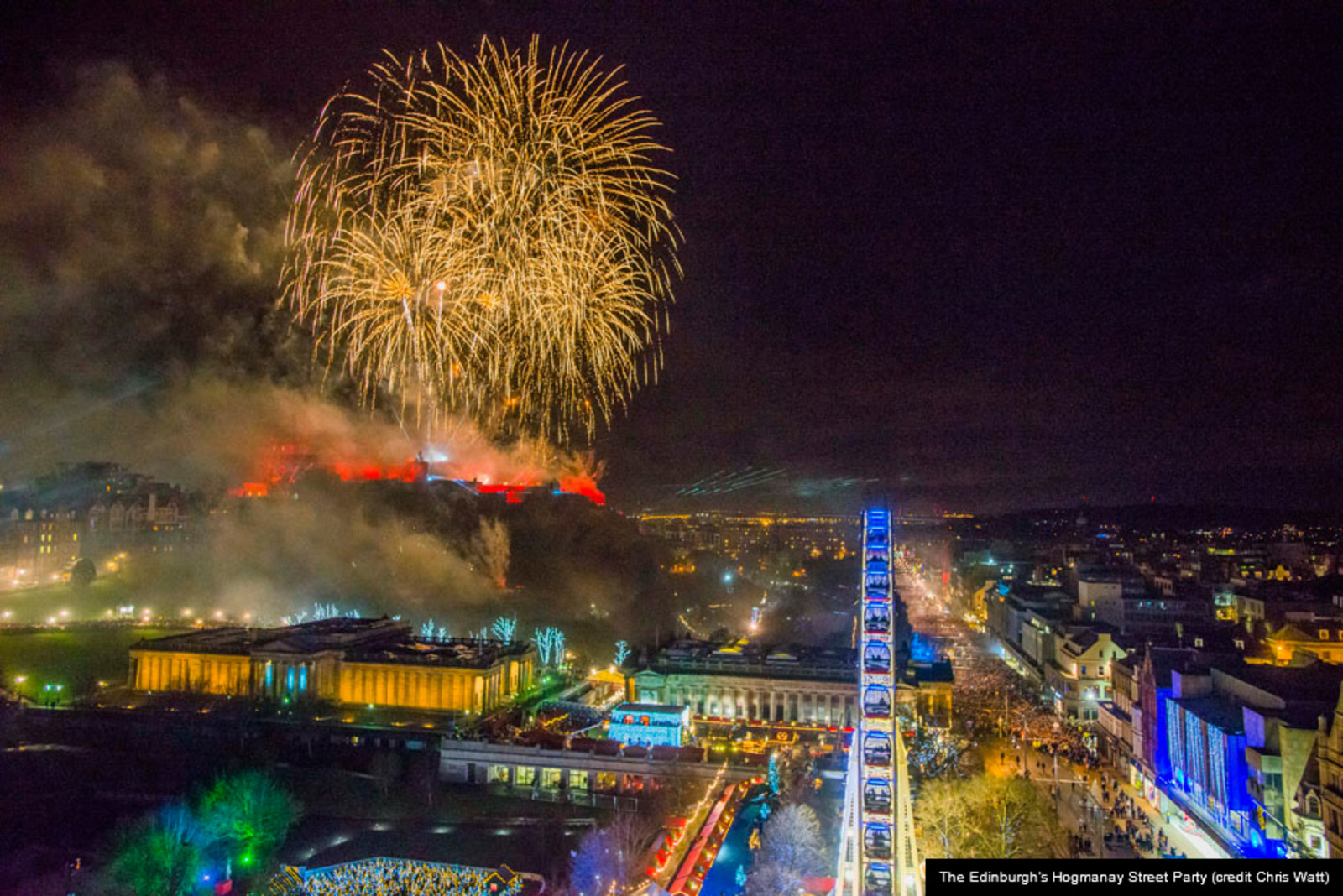 Edinburgh's Hogmanay - Edinburgh Festival City