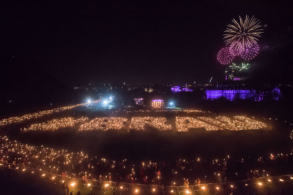 Torchlight EdHogmanay BRAW ScotWord Photo Liam Anderstrem