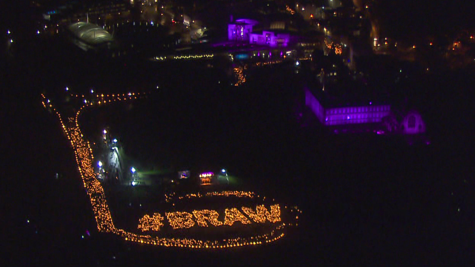 Helicopter shot of Scotword BRAW by Mike Penman