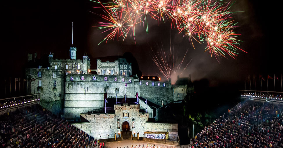 Fireworks at the Royal Military Tattoo