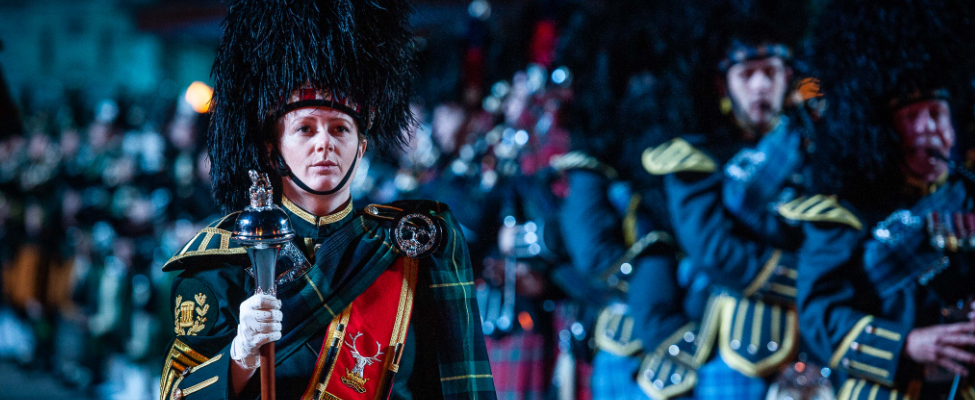 Pipes and drums tattoo 2018