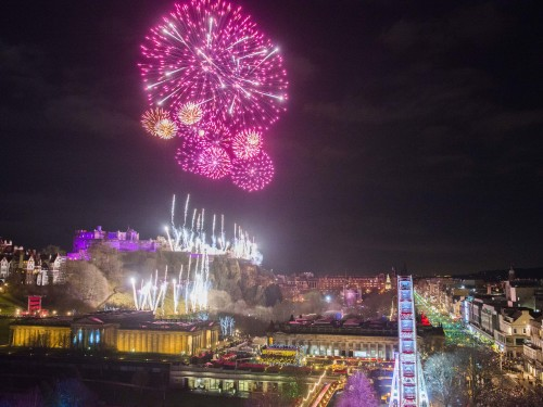 Edinburgh's hogmanay 2018 midnight moment chris watt (1) festival listing