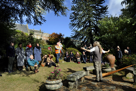 Storytelling at dr neils garden credit colin hatersley scottish international storytelling festival listing