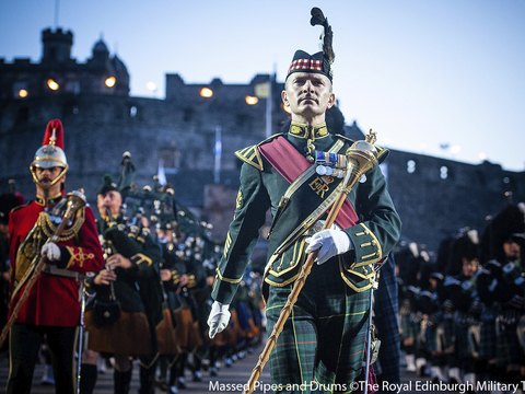 Massed pipes   drums %c2%a9the royal edinburgh military tattoo gallery thumbnail