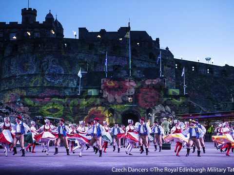 Czech dancers %c2%a9the royal edinburgh military tattoo gallery thumbnail