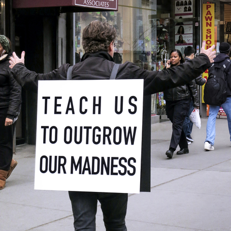 Alfredo jaar   teach us to outgrow our madness  2014. courtesy of the artist. listing