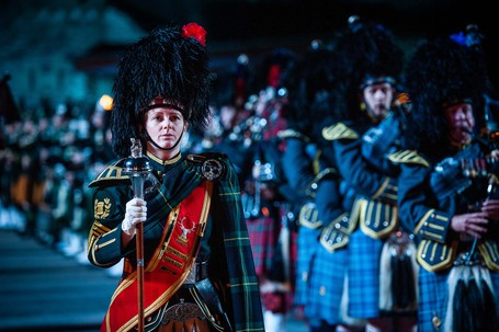 Massed pipes and drums credit the royal edinburgh military tattoo listing