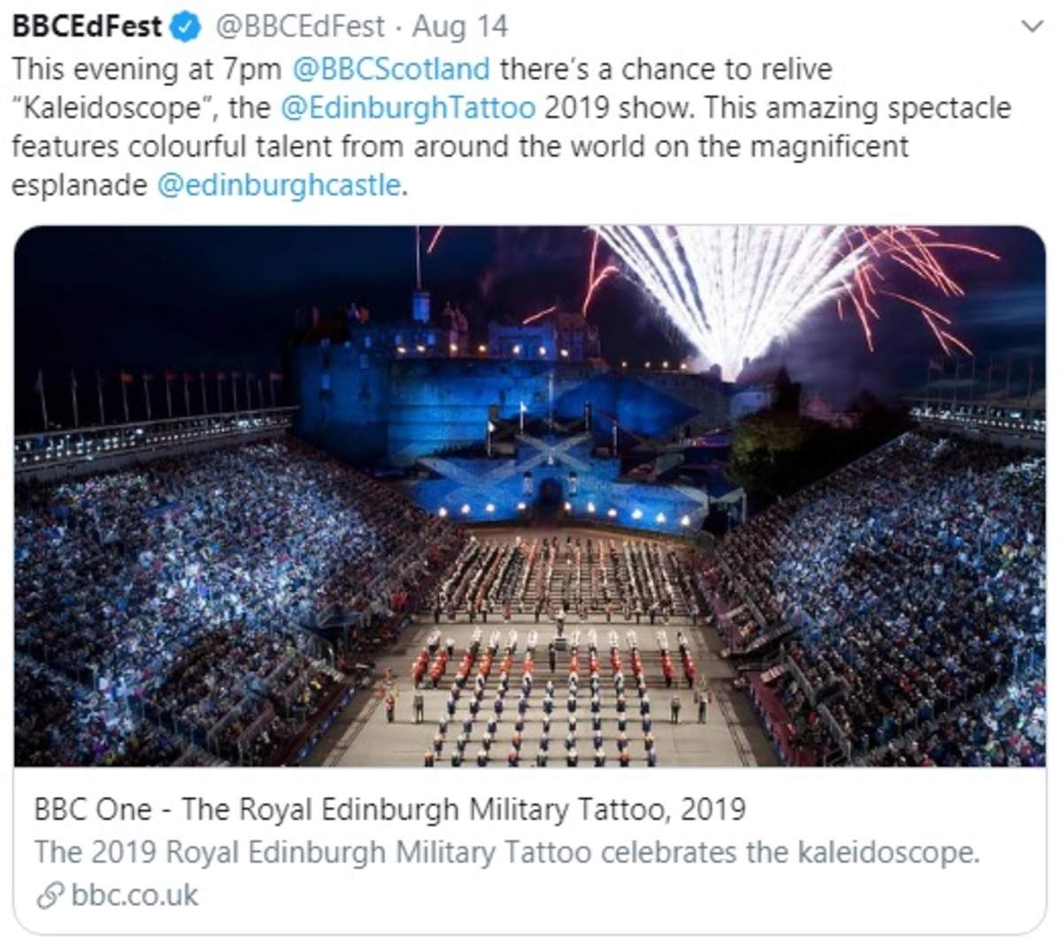 BBC Tattoo